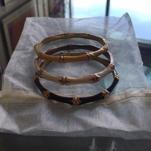 Jewelry - Three beautiful vintage bangles!!!!!