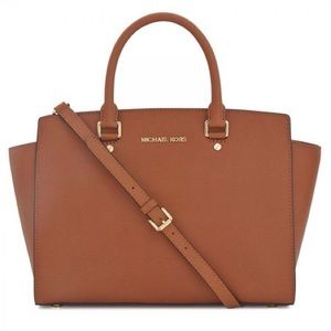 Michael Kors Large Selma Saffiano Leather Handbag