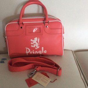 Pringle Handbags - Pringle Scotland doctor's bag cotton candy New