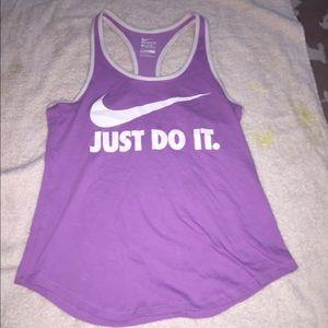 Nike tank top/ muscle tee