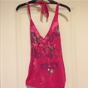 🔴3 for $20🔴DKNY hot pink top