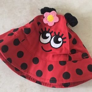 Other - Lady bug sun hat