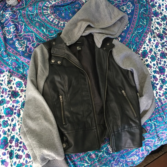 57% off Forever 21 Jackets & Blazers - Forever 21 leather jacket ...