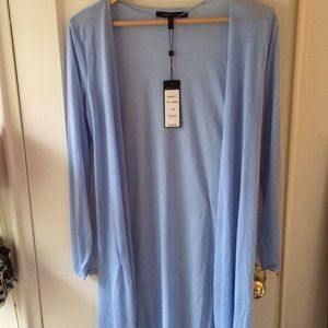 BCBGMaxAzria sheer cardigan, Medium, NWT