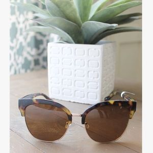 Cat Eye Wayfarer Tortoise Shell Sunglasses
