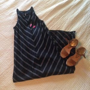 J. Crew Dresses & Skirts - J.Crew Linen Chevron Maxidress