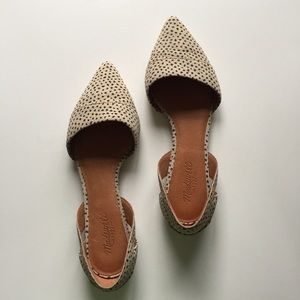 Madewell Shoes - Madewell d'Orsay Flat in Spot Dot
