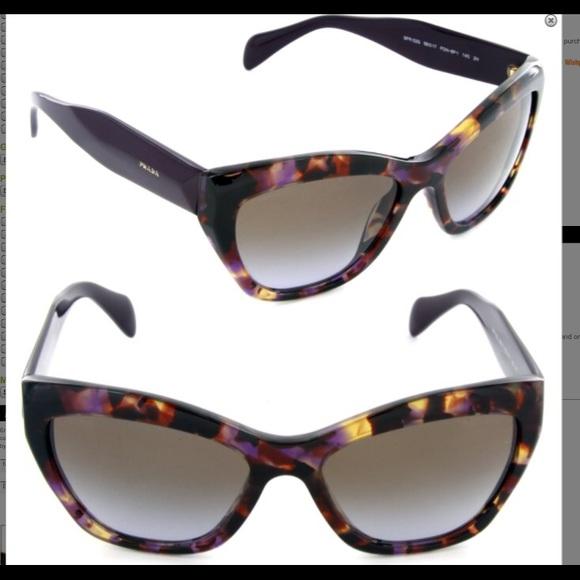 9cf8e3d80b9 Prada SPR 02Q Havana Purple Cat Eye Sunglasses. M 57953d3a3c6f9f1bb30101ac.  Other Accessories ...