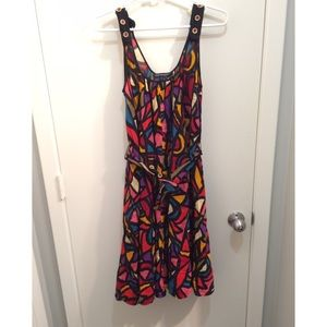 French Connection Colorful Dress