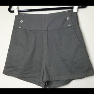 Sailor shorts from urban outfitters