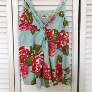 Other - floral tank top