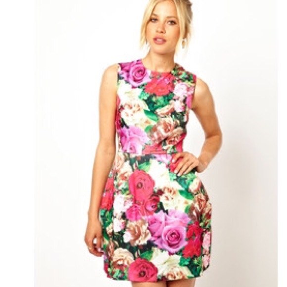 Print Tulip Skirt 59