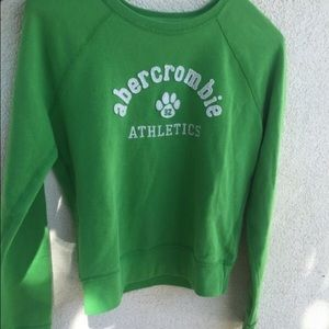 Abercrombie & Fitch Other - green Abercrombie sweatshirt