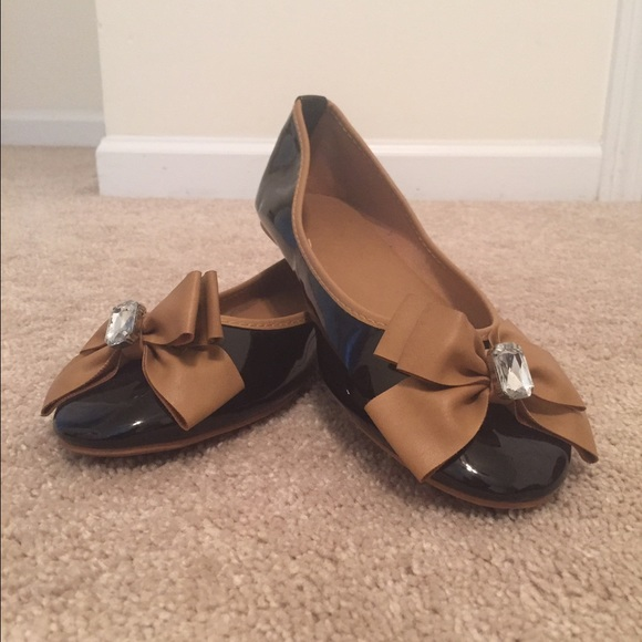 64 jcpenney shoes black patent leather flats from