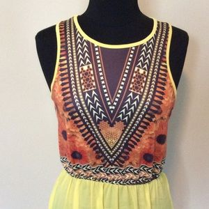 Dresses & Skirts - Yellow Maxi Dress SOLD