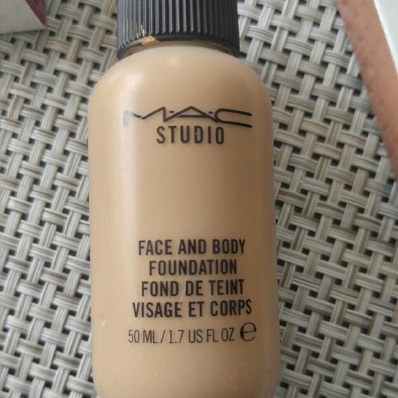mac cosmetics makeup mac face and body foundation shade c3 poshmark