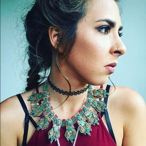 Child of Wild Jewelry - Turquoise Coral Nepalese Necklace