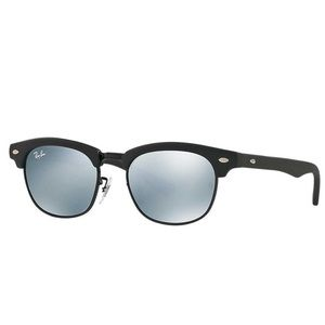NEW Ray-Ban Kids Clubmaster Sunglasses, MatteBlack