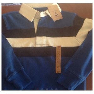 Lands' End Other - Lands End NWT BOYS rugby shirt