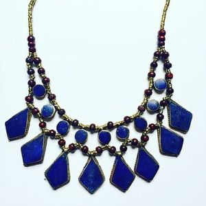 Child of Wild Jewelry - Layered Lapis Necklace