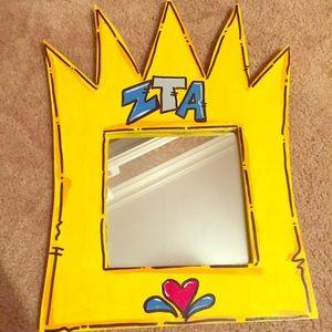 Other - ZTA Mirror in Crown frame