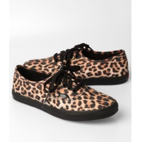 leopard print vans shoes