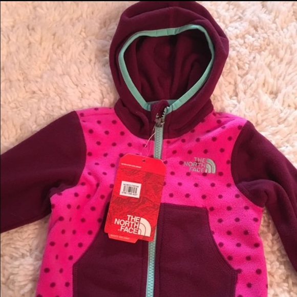 e7eb78bc2 Infant girl North Face jacket. Size 3-6 months NWT