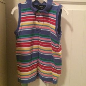 Girls Polo tank