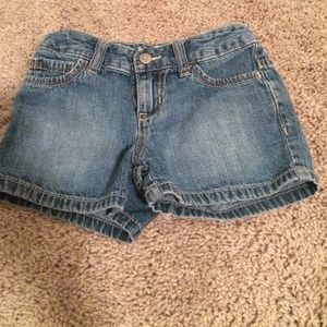 Girls  jean shorts like new
