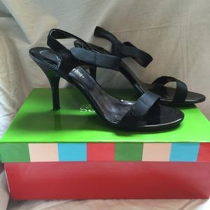 Charles (by Charles David) sandal pumps 8.5 black