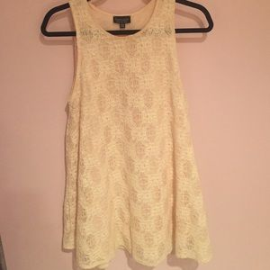 Reduced TOPSHOP size US 6 lace shift dress