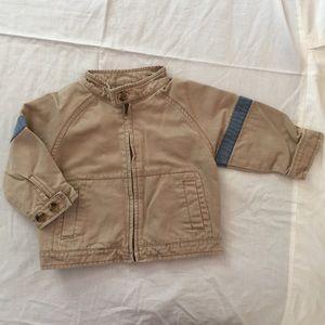 Size 2 boys Gymboree mechanics jacket