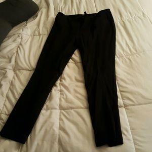 Black Stretch Skinny Dress Pants
