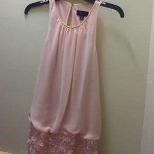 AQUA dresses light pink dress