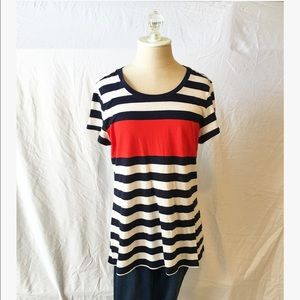 Gap Essential Crew Stripe Tee