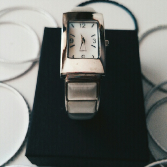 Avon Accessories - Cat's Eye Opal Bangle Watch