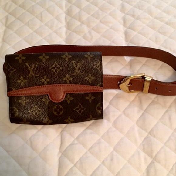 59dbfa37255f Louis Vuitton Fanny Pack and 2 Louis Vuitton Belts.  M 57c4f74c4225be0e5b00e1f4