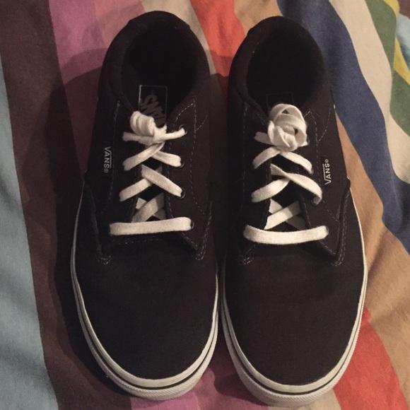 vans shoes 4y