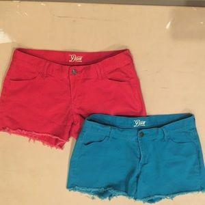 Bundle of 2 Cut-Off Denim Shorts