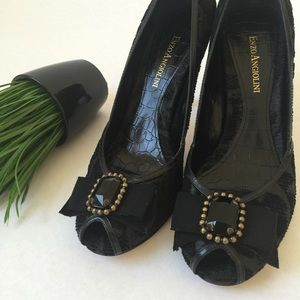 Enzo Angiolini Shoes - Enzo Angiolini Peep Toes