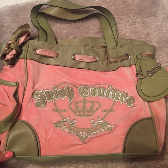 Juicy Couture Handbags - Juicy couture 100% Authentic Velour Tote