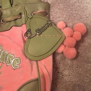 Juicy Couture Bags - Juicy couture 100% Authentic Velour Tote