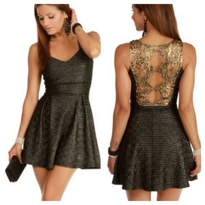1d3b495a2b WINDSOR Dresses - WINDSOR BLACK LUX SKATER DRESS SIZE SMALL