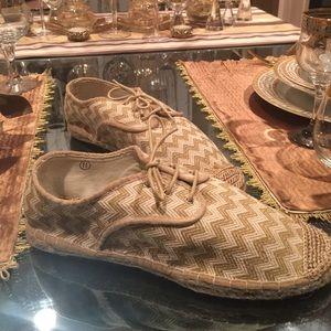 Shoes - Chevron pattern Espadrilles
