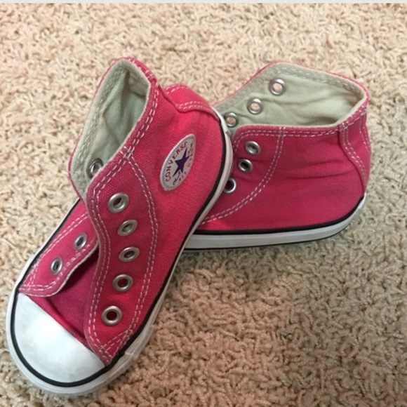 converse pink baby converse size 5 from ire s closet