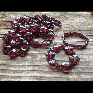 Jewelry - Beveled glass bracelets