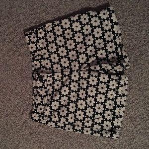 Flower Printed Shorts