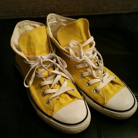 bc8ef6214c0f ... coupon for converse size 6 men 8 women high top yellow 5ca81 e1ed4  discount converse all star ...