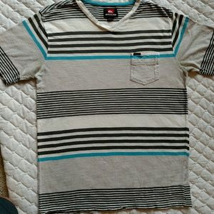 Quiksilver Other - Men's quicksilver striped shirt