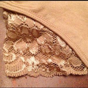 204583f675 Mystige Intimates   Sleepwear - NWT Lace G-String Body Shaper BodySuit  color  Nude